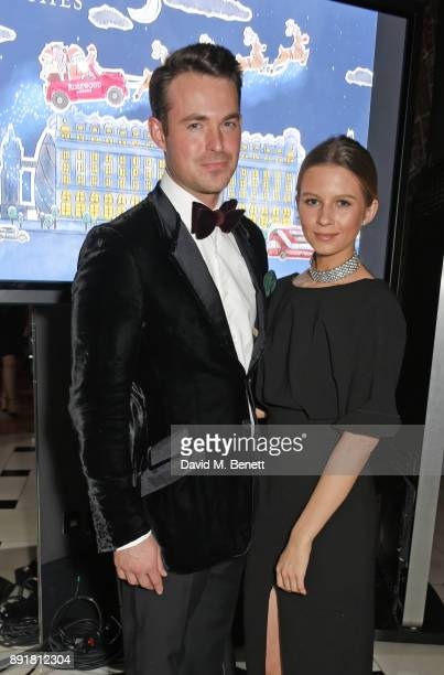 Jules Knight and Mimi Emmett attend the Rosewood Mini Wishes Gala Dinner in aid of Great Ormond Street Hospital Children's Charity at Rosewood London...