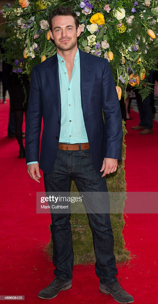 Jules Knight attends the UK premiere of 'A Little Chaos' at ODEON Kensington on April 13, 2015 in London, England.