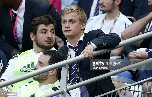 Jules Plisson of Stade Francais attends the Top 14 Final between ASM Clermont Auvergne and Stade Francais Paris at Stade de France on June 13, 2015...