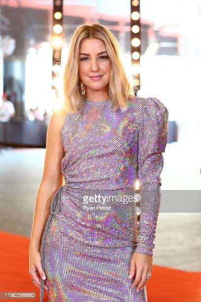 Jules Sebastian arrives for the 33rd Annual ARIA Awards 2019 at The Star on November 27 2019 in Sydney Australia