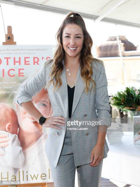 Jules Sebastian attends the launch of Elle Halliwelll's book 'A Mother's Choice' on May 1 2018 in Sydney Australia