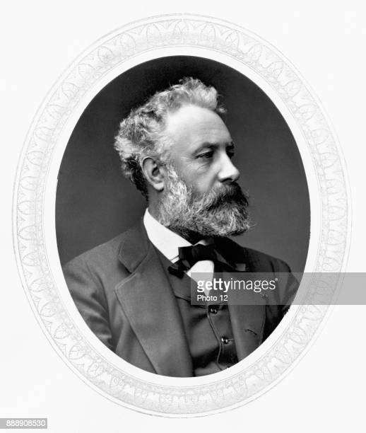 Jules Verne French adventure and science fiction writer Photo12/UIG via Getty Images