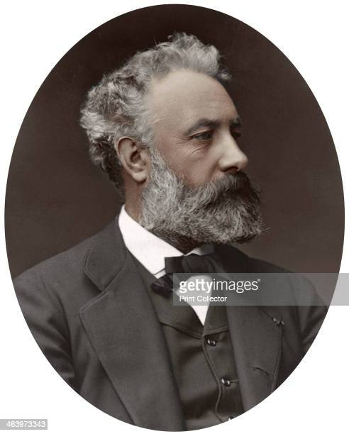Jules Verne French novelist 1877 Verne is best known for his groundbreaking works of science fiction From Men of Mark a gallery of contemporary...