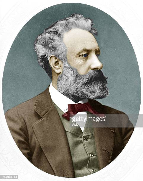 Jules Verne French novelist here in 1877