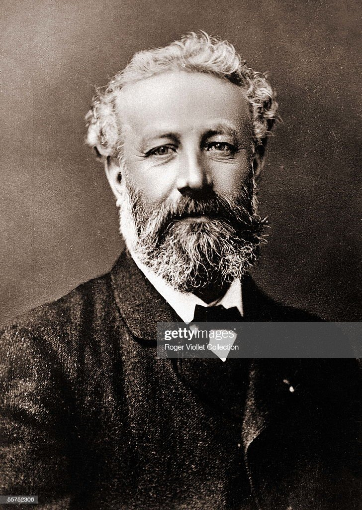 Jules Verne (1828-1905), French writer, by Nadar ( : News Photo