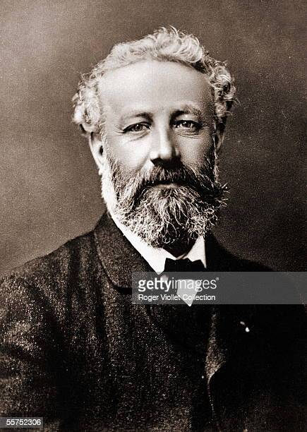 Jules Verne French writer by Nadar Colourized photo