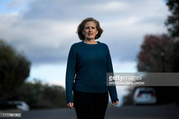 Juli Briskman who was fired after giving US President Donald Trump's motorcade the middle finger while cycling in 2017 is running for a seat on the...