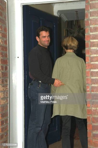 Julia And Will Carling Outside Their Home