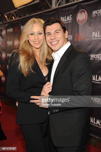 Julia Ann and Dennis arrives at the 2010 AVN Awards at the Pearl at The Palms Casino Resort on January 9 2010 in Las Vegas Nevada