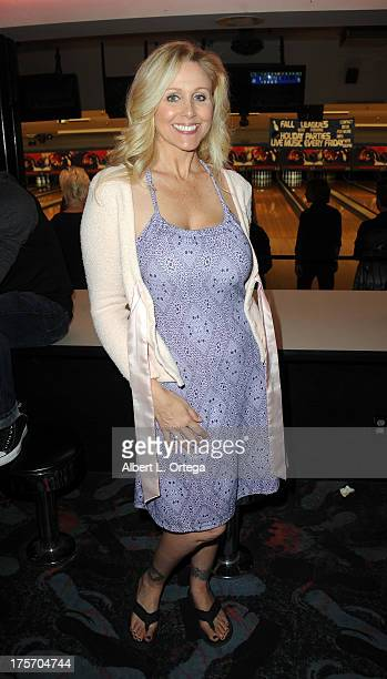 Julia Ann participate in Porn Star Bowling for the Free Speech Coalition held at Corbin Bowl on July 28 2013 in Tarzana California