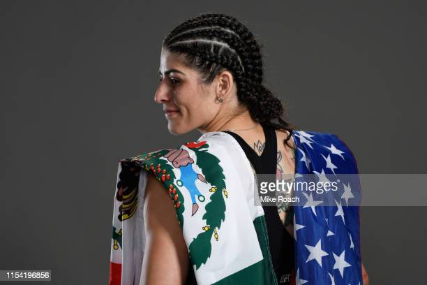 Julia Avila poses for a portrait during the UFC 239 event at TMobile Arena on July 6 2019 in Las Vegas Nevada