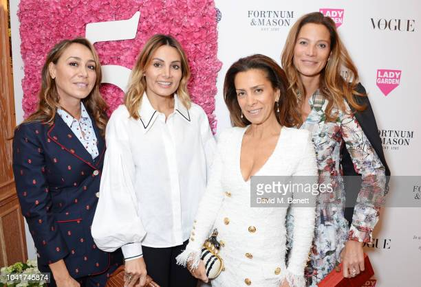 Julia Baumhoff Narmina Marandi Guest and Julia Baumhoff attend the 5th annual Lady Garden lunch in support of the Silent No More Gynaecological...