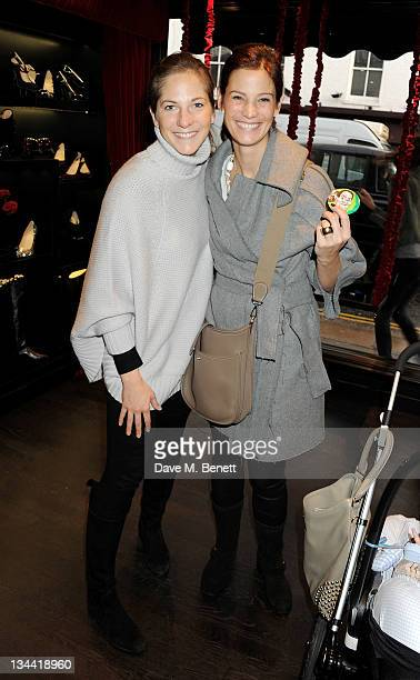 Julia Beaumoff attends a private preview of Alberto Moretti Christmas at Arfango on November 30, 2011 in London, England.