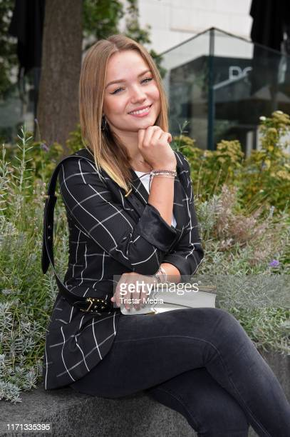 "Julia Beautx attends the ""Schoen fuer mich"" Rossmann Beauty Event at Berliner Freiheit on September 26, 2019 in Berlin, Germany."