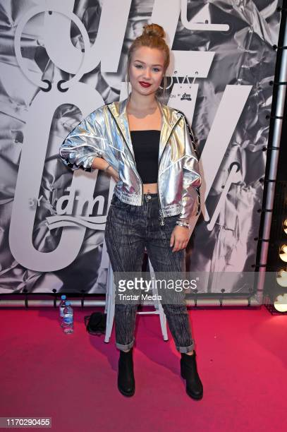 "Julia Beautx during the Beauty Convention ""Glow"" by DM at The Station on September 22, 2019 in Berlin, Germany."