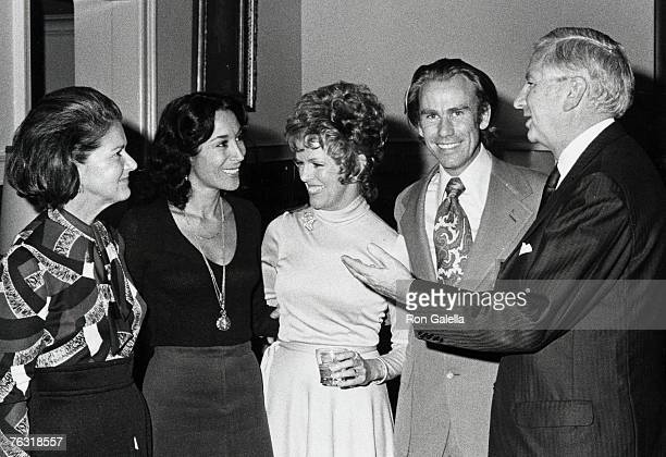 Julia Belafonte and guests attending a concert on November 17 1971 at Town Hall in New York City New York