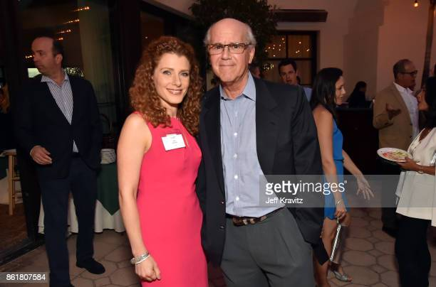 Julia Boorsten and Jeff Berg at an Evening With Thomas L Friedman and Common Sense Media on October 15 2017 at the Bel Air Bay Club in Pacific...