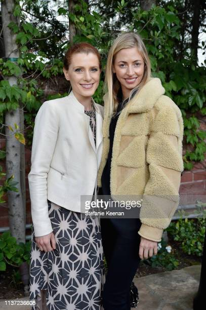 Julia Boorstin and Ashleigh Dempster attend Jessica Yellin LA Book Launch at Private Residence on April 14 2019 in Los Angeles California