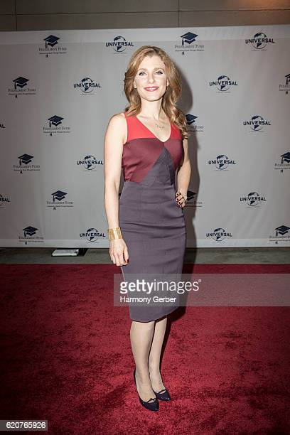 Julia Boorstin arrives at the 22nd Fulfillment Fund Stars Benefit Gala at The Globe Theatre at Universal Studios on November 2 2016 in Universal City...