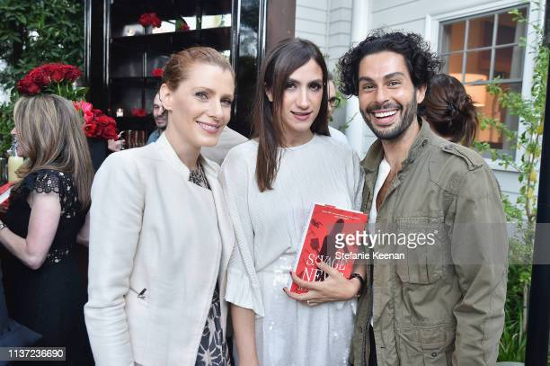 Julia Boorstin Mandana Dayani and Joey Maalouf attend Jessica Yellin LA Book Launch at Private Residence on April 14 2019 in Los Angeles California