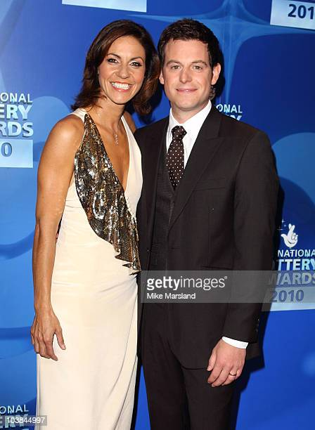 Julia Bradbury and Matt Baker attend the National Lottery Awards at The Roundhouse on September 4 2010 in London England