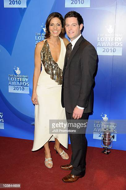 Julia Bradbury and Matt Baker attends the National Lottery Awards at The Roundhouse on September 4 2010 in London England