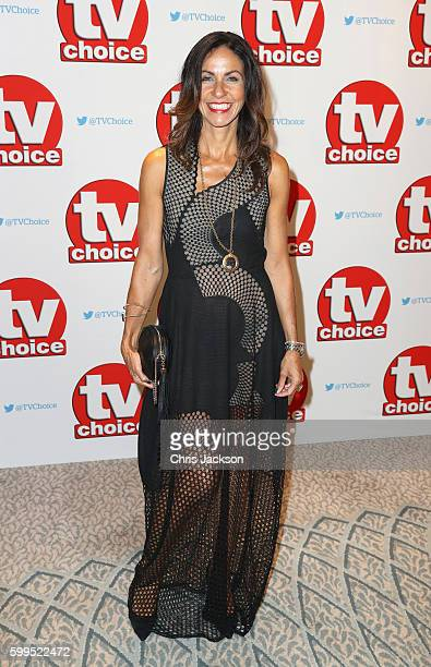 Julia Bradbury arrives for the TV Choice Awards at The Dorchester on September 5 2016 in London England