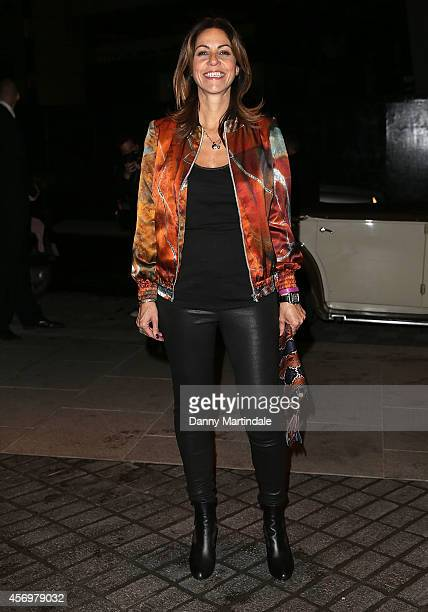 Julia Bradbury attends the launch of The Mondrian Hotel at Mondrian Hotel on October 9 2014 in London England