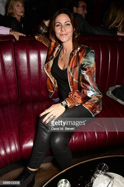 Julia Bradbury attends the launch party as Mondrian London opens its doors on London's South Bank at Mondrian Hotel on October 9 2014 in London...