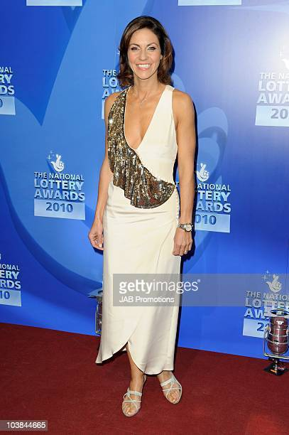 Julia Bradbury attends the National Lottery Awards at The Roundhouse on September 4 2010 in London England