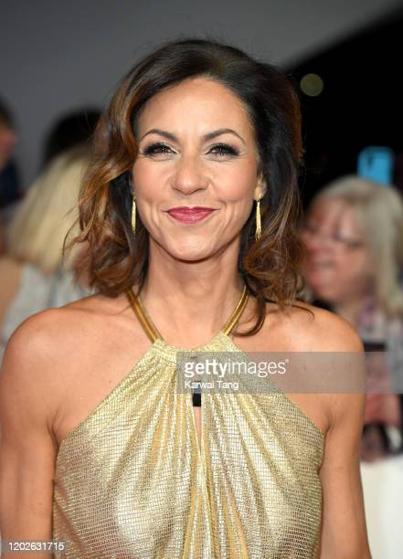 Julia Bradbury attends the National Television Awards 2020 at The O2 Arena on January 28 2020 in London England