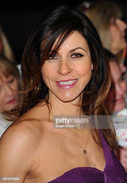 Julia Bradbury attends the National Television Awards at 02 Arena on January 21 2015 in London England