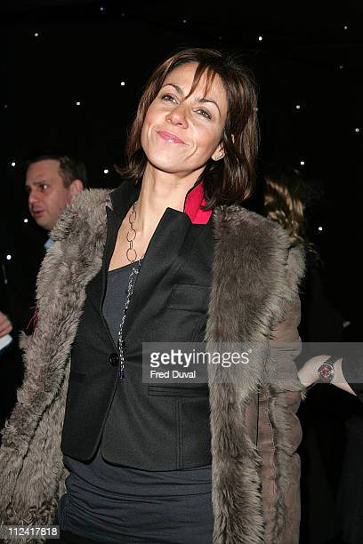 Julia Bradbury during LG Shine Launch Party Arrivals at Club Cirque in London Great Britain