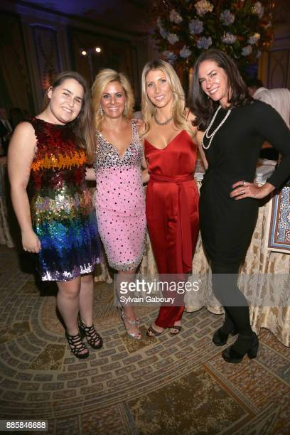 Julia Braverman Abbey Braverman Andrea Saty and Shirley Morris attend The 20th Anniversary Food Allergy Ball Benefiting Food Allergy Research...