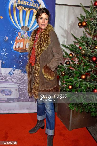 Julia Bremermann attends the 15th Roncalli christmas circus premiere at Tempodrom on December 22, 2018 in Berlin, Germany.