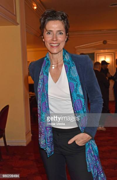 Julia Bremermann attends the premiere 'Der Entertainer' on March 10 2018 in Berlin Germany