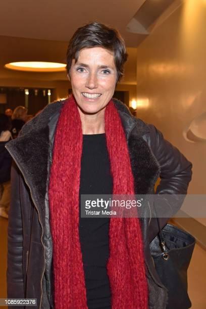 Julia Bremermann during the 'Hase Hase' theatre premiere at Komoedie am Kurfuerstendamm at Schillertheater on January 20 2019 in Berlin Germany