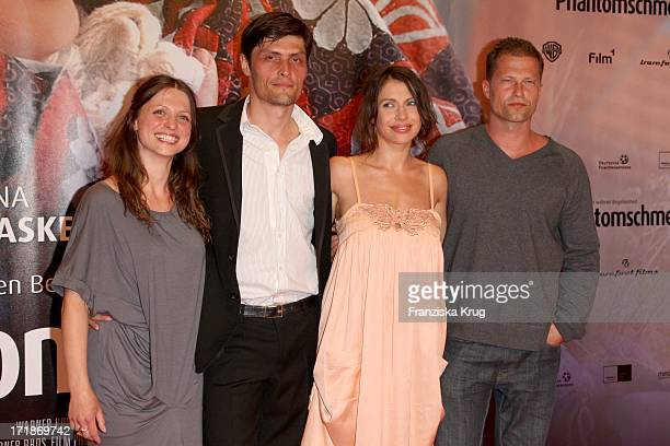 Julia Brendler Stipe Erceg Jana Pallaske And Til Schweiger at the Premiere Of Phantom Pain In the cinema In The Culture brewery in Berlin