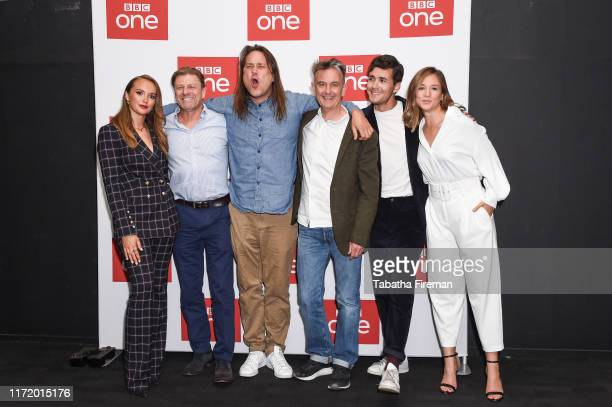 Julia Brown Sean Bean Adam Smith Pete Bowker Jonah HauerKing Zofia Wichlacz attend the World On Fire BFI Premiere at BFI Southbank on September 3...