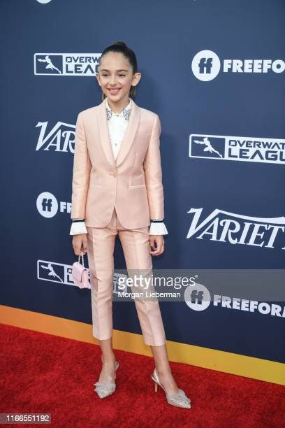 Julia Butters arrives at Variety's Power Of Young Hollywood party at The H Club Los Angeles on August 06 2019 in Los Angeles California