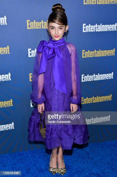 Julia Butters attends Entertainment Weekly PreSAG Celebration at Chateau Marmont on January 18 2020 in Los Angeles California