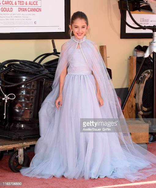 Julia Butters attends Sony Pictures' Once Upon a Time in Hollywood Los Angeles Premiere on July 22 2019 in Hollywood California