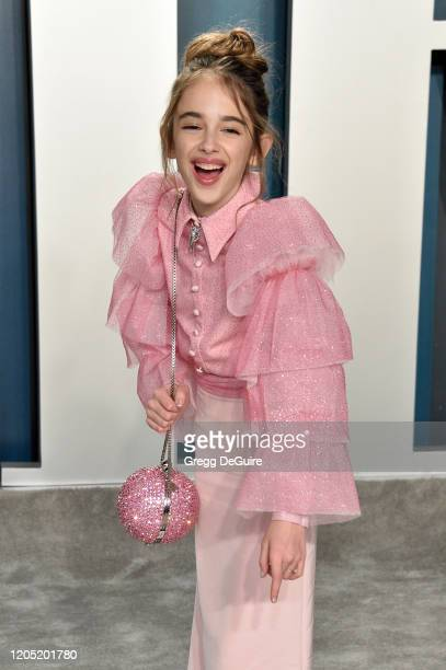 Julia Butters attends the 2020 Vanity Fair Oscar Party hosted by Radhika Jones at Wallis Annenberg Center for the Performing Arts on February 09 2020...
