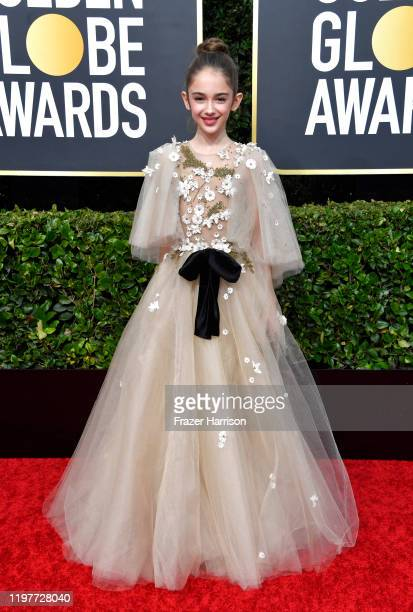 Julia Butters attends the 77th Annual Golden Globe Awards at The Beverly Hilton Hotel on January 05 2020 in Beverly Hills California