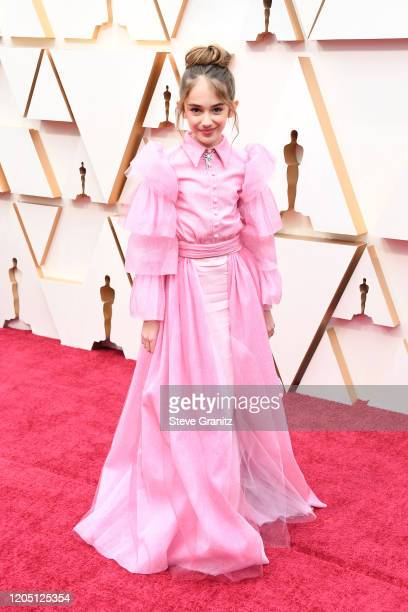 Julia Butters attends the 92nd Annual Academy Awards at Hollywood and Highland on February 09 2020 in Hollywood California