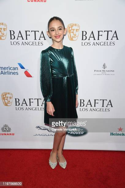 Julia Butters attends The BAFTA Los Angeles Tea Party at Four Seasons Hotel Los Angeles at Beverly Hills on January 04 2020 in Los Angeles California