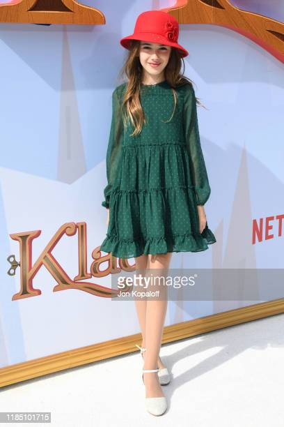 Julia Butters attends the premiere of Netflix's Klaus at Regency Village Theatre on November 02 2019 in Westwood California