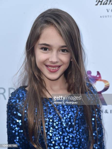Julia Butters attends the RIDE Foundation's 2nd Annual Dance For Freedon at gala The Broad Stage on September 29 2018 in Santa Monica California