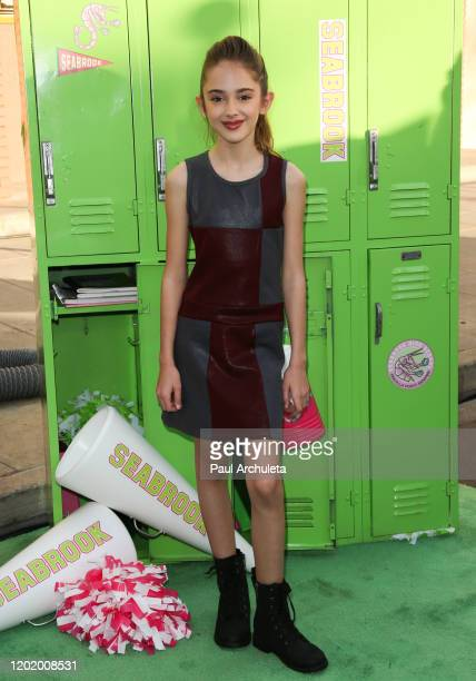 Julia Butters attends the screening of the Disney Channel original movie ZOMBIES 2 at Walt Disney Studios Main Theater on January 25 2020 in Burbank...