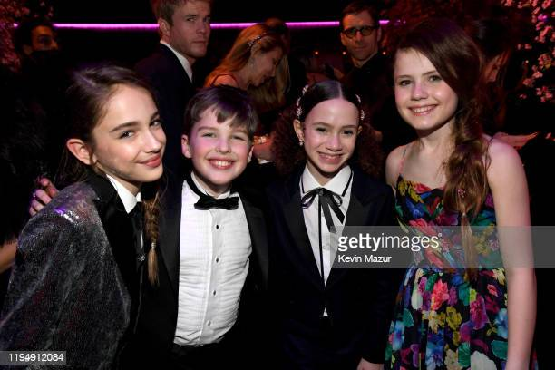 Julia Butters Iain Armitage Chloe Coleman and Darby Camp attend PEOPLE's Annual Screen Actors Guild Awards Gala at The Shrine Auditorium on January...